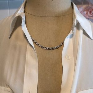 Jewelry - Silver Rope Necklace